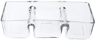 Alex Liddy Slate & Co Rectangle Glass Divided Serving Dish 30cm