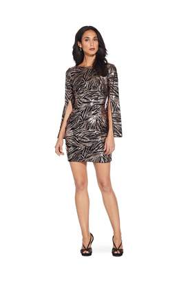 Adrianna Papell Split Sleeve Sheath Dress
