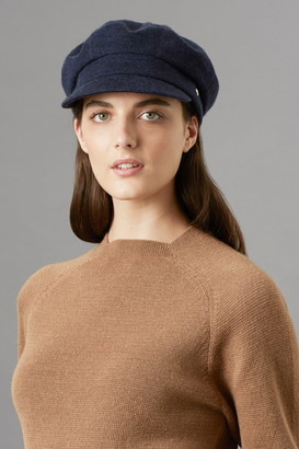 Helen Kaminski Beatrice Merino Wool Sailor Cap