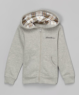 Eddie Bauer Heather Gray Hoodie - Girls