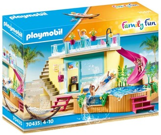 Playmobil Family Fun Beach Hotel Bungalow