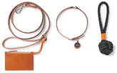 Shinola Grosgrain-Trimmed Leather Dog Leash, Collar and Toy Set