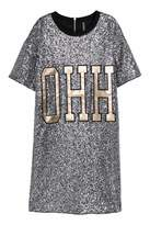 H&M T-shirt Dress with Sequins