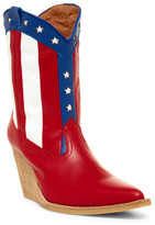 Jeffrey Campbell Spangle Wedge Cowboy Boot