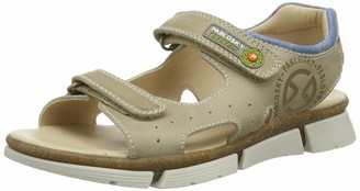 Pablosky Kids Boys Open Toe Sandals (Beige 594476) 4 UK