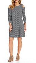 Westbound Cold Shoulder Dress