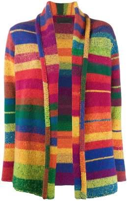 The Elder Statesman cashmere colour-block cardigan