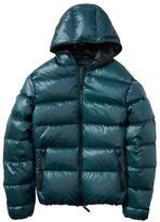 Banana Republic Water-Repellent Hooded Puffer Jacket