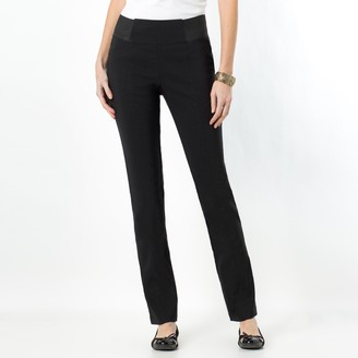 Anne Weyburn Smart Stretchy Elasticated Waist Trousers, Length 30.5""