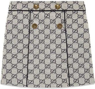 Gucci Kids GG canvas skirt