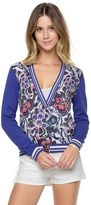 Juicy Couture Outlet - BELLA DONNA PRINTED CARDIGAN