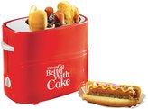 Nostalgia Electrics Coca-Cola Series Pop-Up Hot Dog Toaster - Red