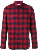 Givenchy casual plaid shirt