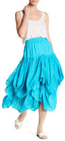 Calypso St. Barth Lourdes Silk Parachute Skirt