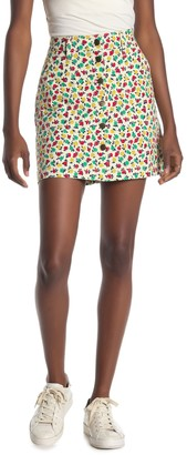J.Crew Button Front Mini Skirt