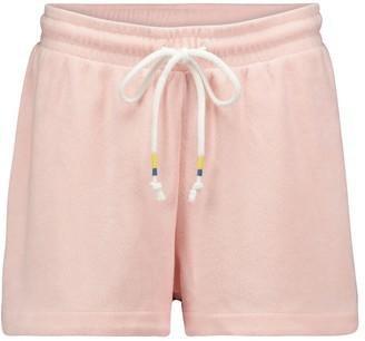 The Upside Florencia cotton-blend shorts