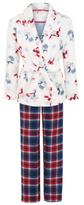 George Tatty Teddy 3 Piece Dressing Gown and Pyjama Set