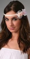 Romantic Floral Wrap Headband