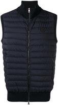 Moncler quilted body-warmer jacket - men - Cotton/Nylon/Polyamide/Spandex/Elastane - M