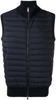 Moncler quilted body-warmer jacket - men - Cotton/Nylon/Polyamide/Spandex/Elastane - XL