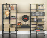 Container Store Ebony Connections Library Shelving