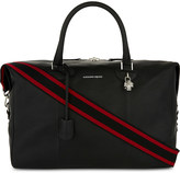 Alexander McQueen Grained leather holdall