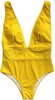 Goodnight Macaroon 'Samantha' Plunge Neck Swimsuit (5 Colors)
