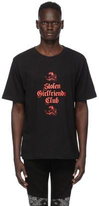 Stolen Girlfriends Club Black Snake T-Shirt