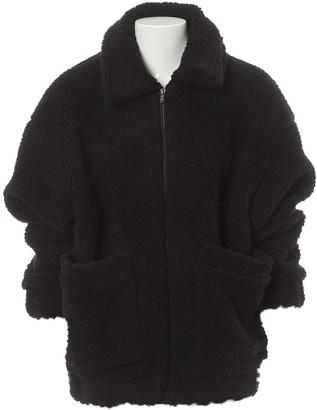 I.AM.GIA Black Faux fur Coats