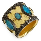 Armenta Women's Old World Cigar Band Ring