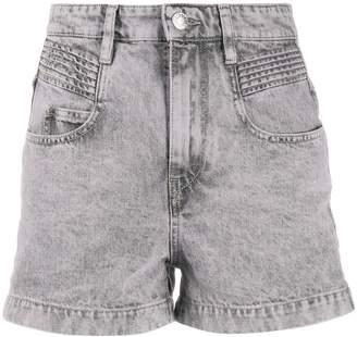 Etoile Isabel Marant Hiana high-rise denim shorts