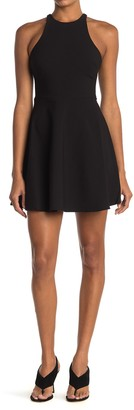 LIKELY Moore Racerback Fit & Flare Mini Dress