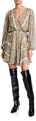 Astr Raphaela Printed Dress