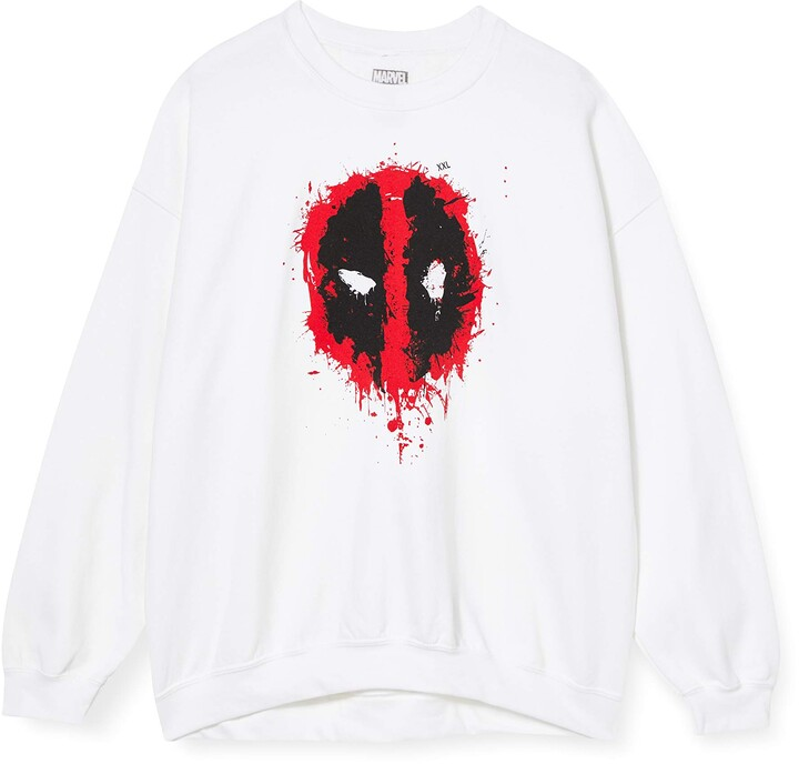 Thumbnail for your product : Marvel Women's Deadpool Splat Face Sweatshirt