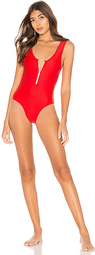 Lovers + Friends Zipped Up One Piece