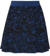 Opening Ceremony Intarsia Stretch-Knit Mini Skirt
