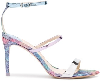Sophia Webster Rosalind 85mm glitter sandals