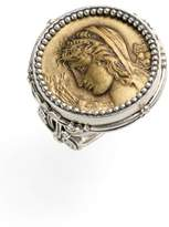 Konstantino Women's 'Demeter' Coin Ring