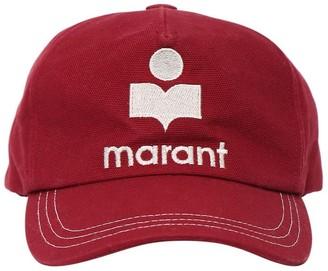 Isabel Marant Tyron Embroidered Logo Baseball Hat