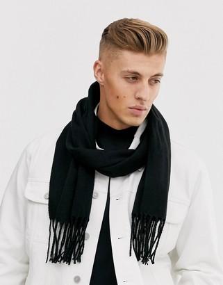 New Look scarf in black