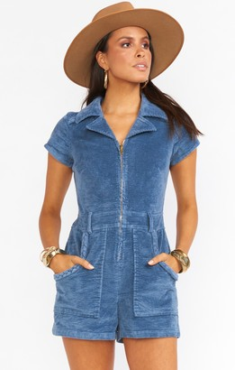 Show Me Your Mumu Outlaw Romper