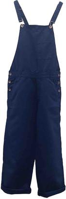 Bellerose Blue Cotton Jumpsuits