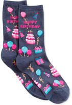 Hot Sox Women's Happy Birthday Socks