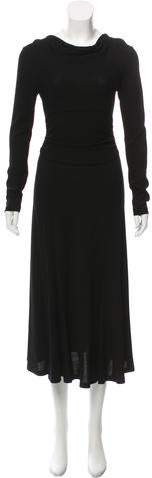 Derek Lam Long Sleeve Cowl Neck Dress w/ Tags