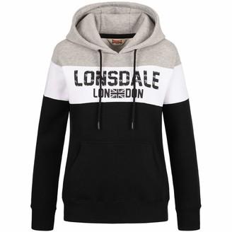 Lonsdale London Women's Sleeve Hooded Sweatshirt