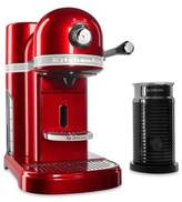 Nespresso by Kitchenaid® with Milk Frother in Candy Apple Red