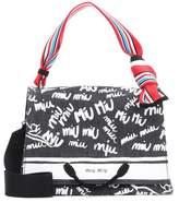 Miu Miu Printed canvas shoulder bag