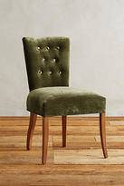 Anthropologie Slub Velvet Abner Dining Chair