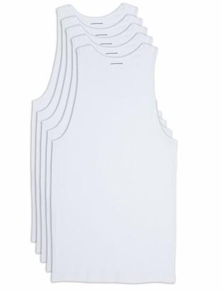 Amazon Essentials Men's Big-Tall 5-Pack Tank Undershirts Shirt