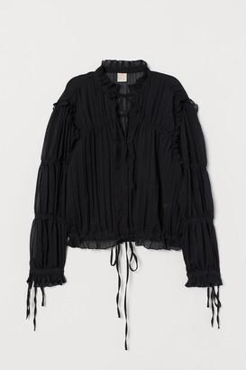H&M Ruffled Blouse